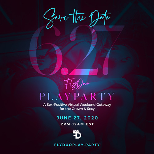 Save the Date: Sat, June 27th - FlyDuo PlayParty™ thumbnail image