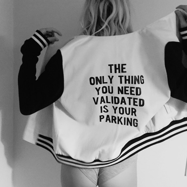 Chelsea Leifken - The Only Thing You Need Validated is Your Parking Jacket thumbnail
