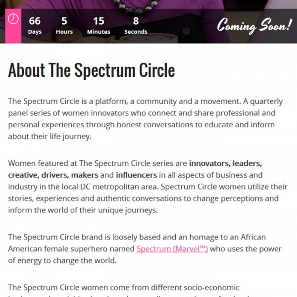 TheSpectrumCircle.com - Microsite by Fly Media Productions thumbnail