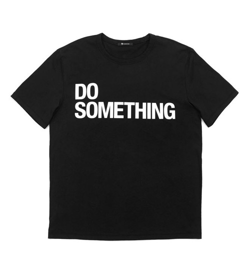 Alexander Wang x DoSomething Black Tee