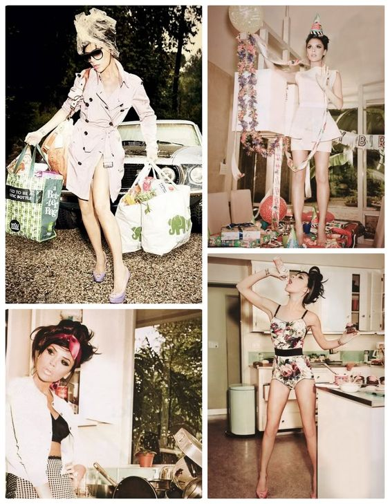 One of my favorite photo shoots of Victoria Beckham, by my absolute fave female photographer Ellen Von Unwerth!