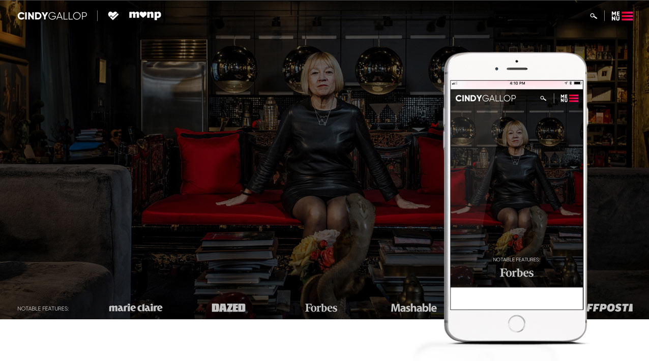 CindyGallop.com - Coming Soon!